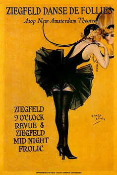 Ziegfeld Theatre by Henry Clive
