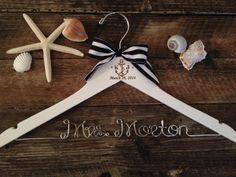 NAUTICAL Wedding Hanger