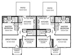 La villa apartments lynden wa floor plans villa for Duplex plans for seniors