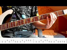 The Trammps - Disco inferno (Bass Tutorial with TABS) - YouTube
