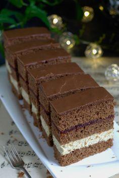 Polish Desserts, Polish Recipes, No Bake Desserts, Tiramisu, Cookie Recipes, Deserts, Good Food, Sweets, Cookies