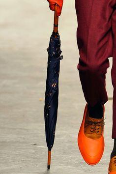 Blucher de color naranja, de Agi and Sam