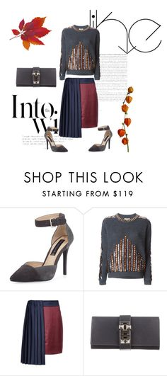 Sexy chic by nektaria-frantzh on Polyvore featuring Kenzo, Mary Katrantzou, Steven by Steve Madden, Hermès and Anja