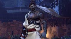 Demon Hanzo Overwatch Halloween Skin Wallpaper