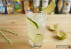 Gin Rickey – klasyczny drink z Ameryki