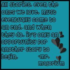 -Mr. Magorium