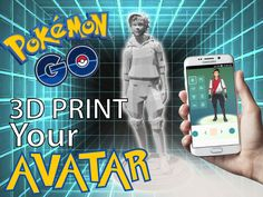 """The worlds most viewed 3d model of this moment in time, now available to 3d print!""  I made this 3d Avatar model because Pokémon GO is so crazy popular, and I think a lot of people would like to have a real profile avatar of there Pokémon GO character! Now you can 3D Print your own Pokémon GO Avatar! Paint it the same as your in-game avatar and enjoy it while standing on your desk!, ...next to your charging ""Pokédex""..! Or spray-paint it gold and use it as a trophy and g..."