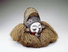 Object type: mask. Place of collecting: Democratic Republic of the Congo > Bandundu > Kwango. Culture: Nkanu. Date of acquisition: 1903-05-12