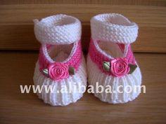 Sapata de bebê de Tricô-em Sapatos de bebês de Sapatos e acessórios em m.portuguese.alibaba.com.