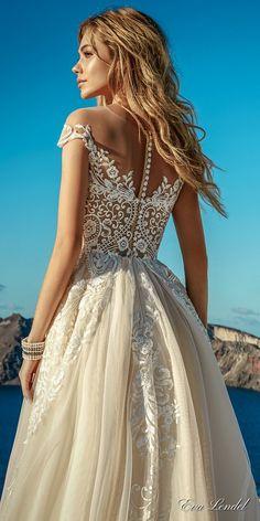 Wedding Dresses 2017 - Santorini Collection via Eva Lendel / http://www.deerpearlflowers.com/eva-lendel-wedding-dresses-2017/3/