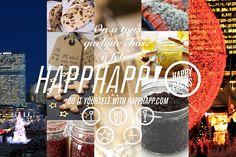 La boîte de Noël Happhapp - Kit de Noël au bureau