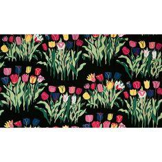 Sweden Josef Frank for Svenskt Tenn Tulip 315 Linen Black (designed in) Textile Design, Textile Art, Josef Frank, Animal Fibres, Swedish Style, Textiles, Fruit Plants, Mid Century Chair, Mark Making