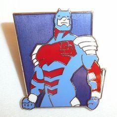 DareDevil Metal Pin - Vintage 1994 Marvel Pin - Planet Studios Comics Hero