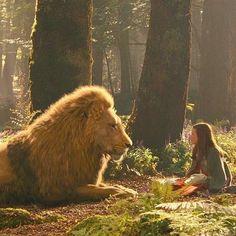 Lucy & Aslan