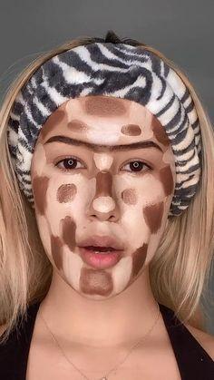 Cool Makeup Looks, Creative Makeup Looks, Crazy Makeup, Pretty Makeup, Skin Makeup, Makeup Art, Makeup Tips, No Foundation Makeup, Liquid Foundation