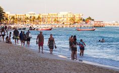Playa del Carmen, Mexico - Retirement, Things To Do & Cost of Living Info Best Places To Retire, South Of The Border, Work Abroad, Cost Of Living, Vacation Destinations, Beautiful Beaches, The Locals, Dolores Park, Street View