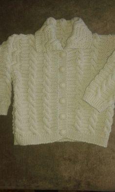 pleteny kabatik(6 mes.) Sweaters, Fashion, 6 Months, Moda, La Mode, Pullover, Sweater, Fasion, Fashion Models
