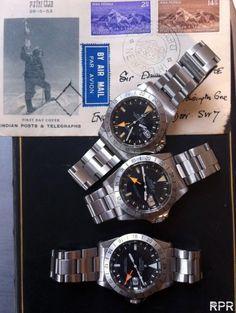 Mr Rolex Orange Hand, Reinhold Messner & Sir Edmund Hillary's original vintage Explorer II ref 1655... - Rolex Passion Report