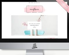 Feminine Wordpress Theme - Meghan by LucaLogos on @creativemarket