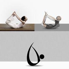 Yoga Pictogrammes designed by Vasilis Magoulas / VAMADESIGN.COM #yoga #pictogram