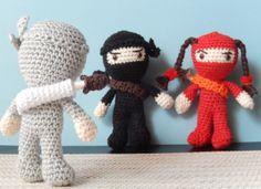 Amigurumi Ninja - FREE Crochet Pattern / Tutorial