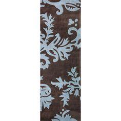 nuLOOM Handmade Pino Floral Vine Runner Rug (2'6 x 8') | Overstock.com Shopping - Great Deals on Nuloom Runner Rugs