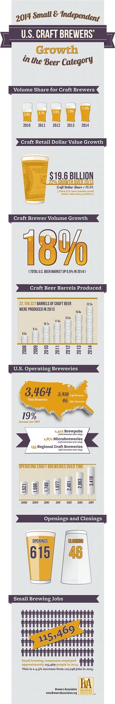 Brewer's Association 2014 State of Craft Beer Market Growth