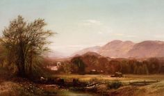 19th century american landscape painters | 19th century American Paintings