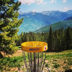 Disc Golf at Vail Mountain.