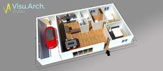 #3D #visuarchstudio #architecture #simplicité