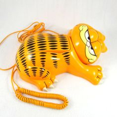 Garfield Phone from the 1980s in Perfect by ElizaBellaDesigns