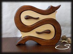 Wooden Jewelry Box Keepsake boxStorage boxmemory box by svetli79, $125.00