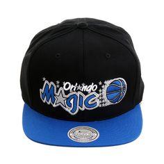 5d025daee37 Mitchell   Ness Orlando Magic 1989 Snapback Hat - 2T Black