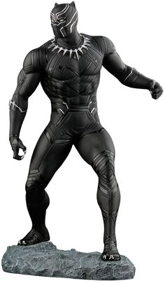 Black Panther Images, Black Panther Art, Black Panther Marvel, Black Panther Statue, Marvel Vs, Marvel Dc Comics, Marvel Heroes, Comic Book Characters, Marvel Characters
