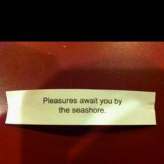 "Fortune cookie  should add ""in bed"" at the end"