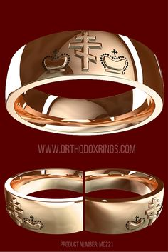 Russian Orthodox rings series  Orthodox Christian men s wedding band  embossed with three bar crossGreek Wedding Bands   Russian Orthodox Rings   Orthodox Cross  . Orthodox Wedding Rings. Home Design Ideas