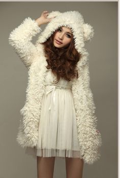 Biała bluza z kapturem i uszami MIŚ (4054387599) - Allegro.pl - Więcej niż aukcje.
