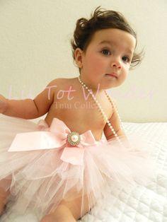 Princess in Pink Infant/Toddler tutu by LilTotWonder on Etsy, $19.00