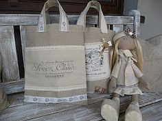 pretty bags ~ from Hand Made May