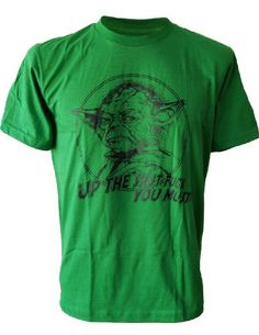 SODAtees funny Master YODA Star Wars Jedi retro movie Men's T-SHIRT - Green - Small SODAtees http://www.amazon.com/dp/B00DP3NR86/ref=cm_sw_r_pi_dp_ur1rvb14FRPGS