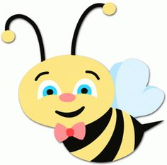 cute bee clipart clipart panda free clipart images art rh pinterest com spelling bee clip art free free clipart beehive