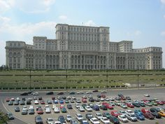 Bucharest Romania, I have seen this up close and it is amazing.