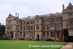 Sense And Sensibility location: country home of the Palmers: Montacute House, Yeovil, Somerset