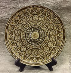 Mandala Art, Mandala Doodle, Mandala Drawing, Mandala Painting, Mandala Design, Dot Art Painting, Ceramic Painting, Stone Painting, Thali Decoration Ideas