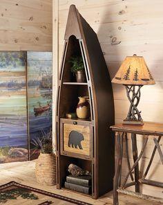 Bear Mountain Canoe Shelf