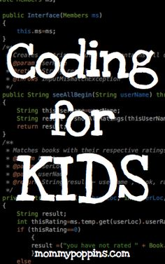 "Coding for Kids: Free Websites That Teach Kids Programming - ""Learning how to build simple websites and games helps kids hone their design, logic and problem-solving skills, and allows them to express their ideas and creativity in lots of different ways. Computer Coding, Computer Class, Computer Science, Computer Jobs, Learning Activities, Kids Learning, Activities For Kids, Teaching Kids To Code, Teaching Biology"