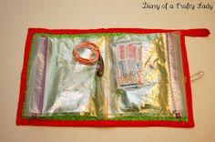 Diary of a Crafty Lady: DIY Ziplock Bag Travel Kit / First Aid Kit