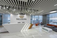 Trelleborg Offices - Bangalore offices of engineered polymer solutions company Trelleborg AB located in Bangalore, India.