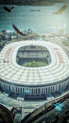 Beşiktaş Vodafon Stadyumu İstanbul