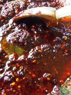 Salsa de Chile de Arbol con Aceite